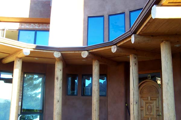 abobe home curved entry