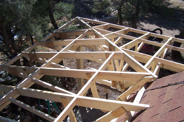 roof framing with severe angles