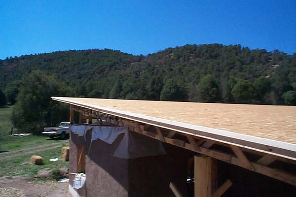 shed roof decking