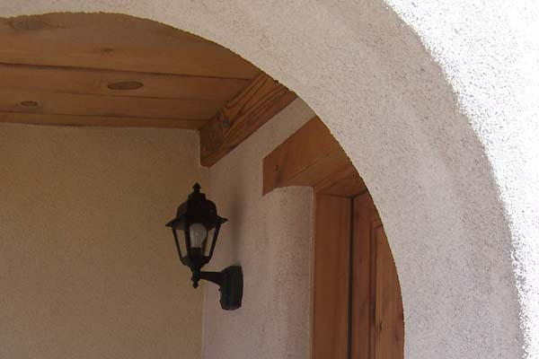 arched window entry