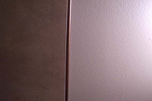 copper trim for tile edge