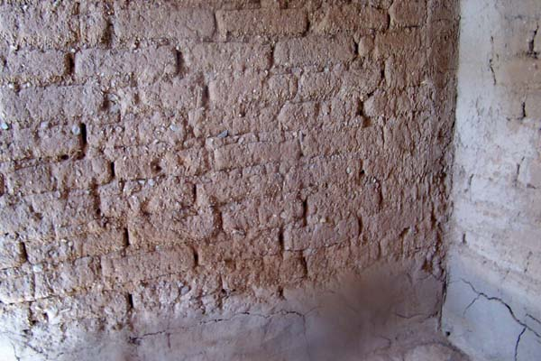adobe walls to be repaired