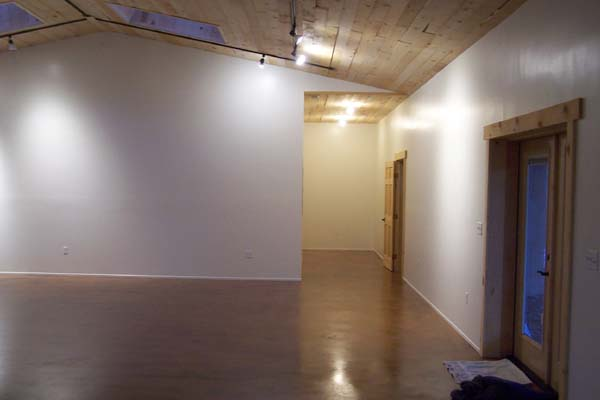 storage hall in Rastra block studio