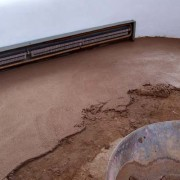 earthen floor renovation