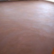 earthen floor following renovation