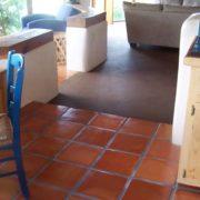 saltillo tiles kitchen view
