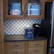 adobe home kitchen hutch